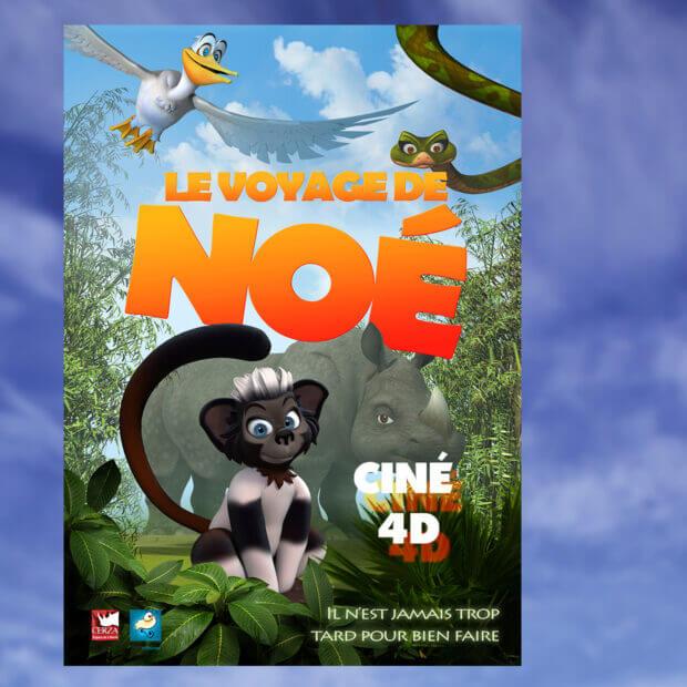LE VOYAGE DE NOE  Cinéma 4D